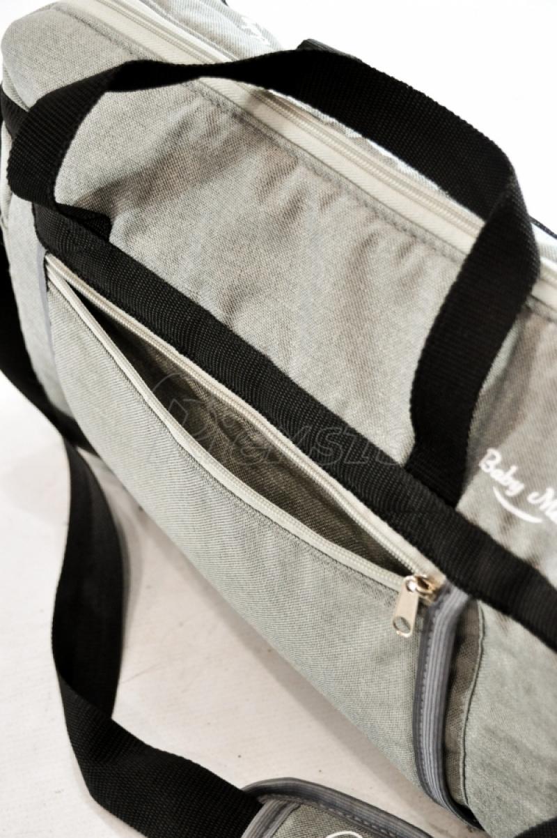 универсальная сумка для детской коляски Baby-Merc T7 с матрасиком и ремешками